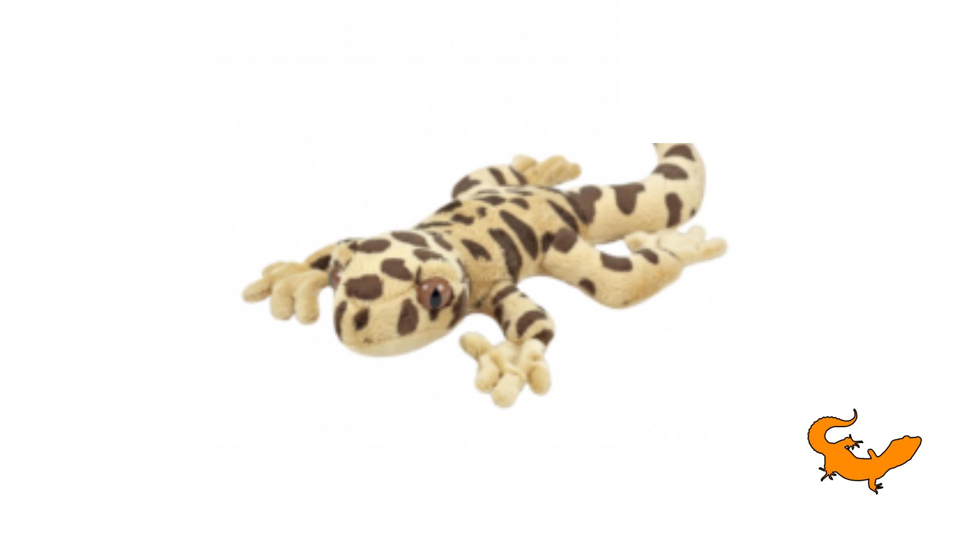 Peluche geco leopardino